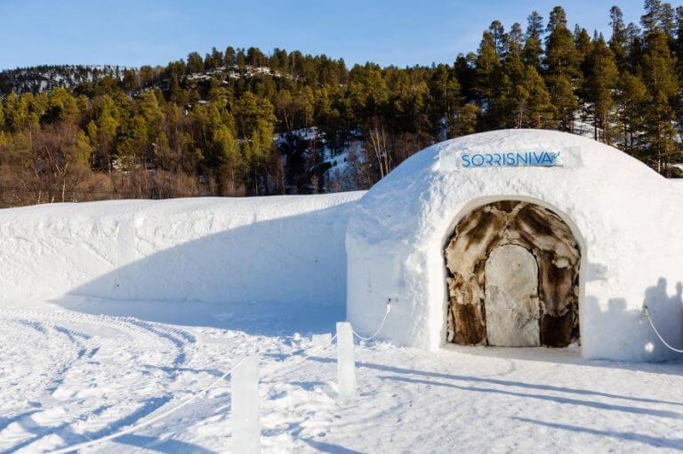 Sorrisniva Igloo Hotel, Norway