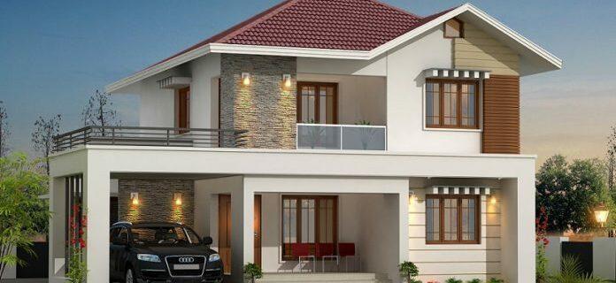 ออกแบบบ้าน 2 ชั้นง่ายๆ