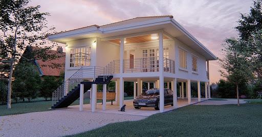 บ้านยกพื้นสวยๆ