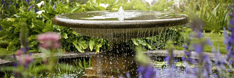 english garden fountain guide