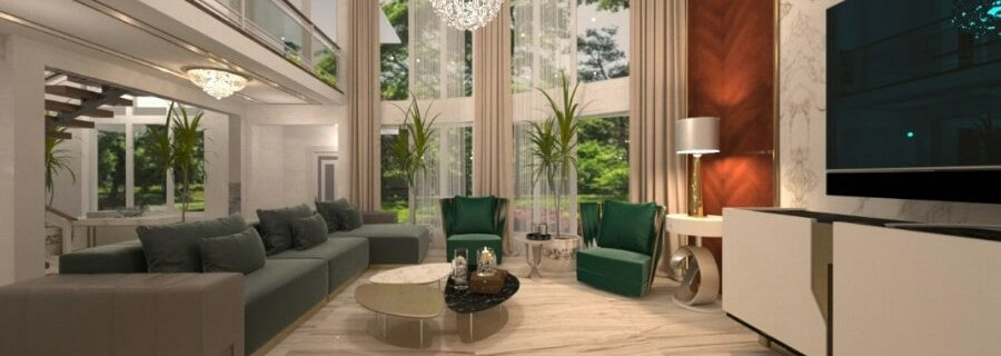 Recommend to decorate the house in modern luxury style