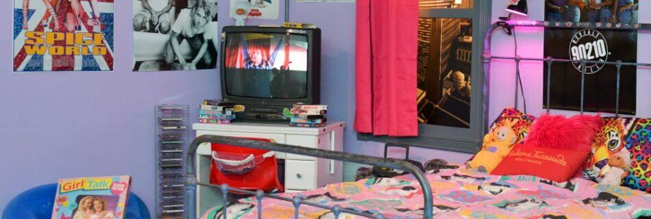 Introducing the arrangement of a vintage bedroom in 90's