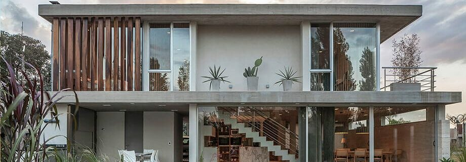 Introducing the bare cement house