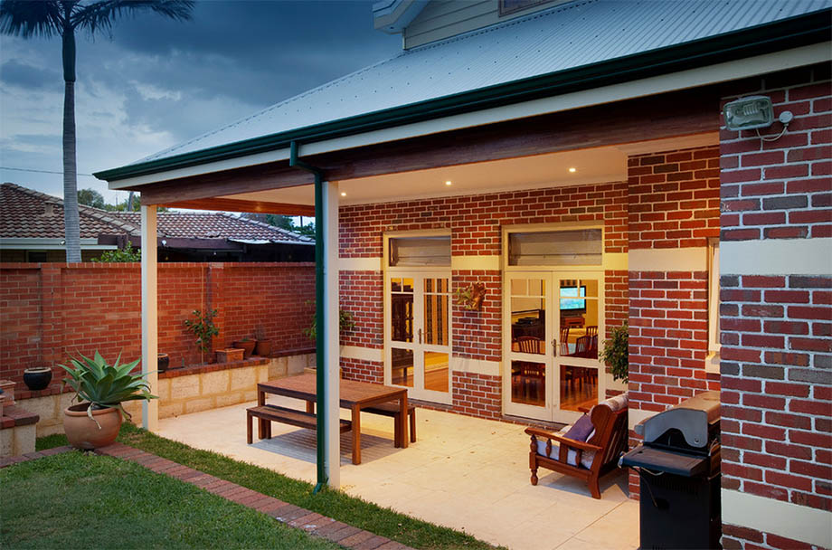 Recommend building a red brick house