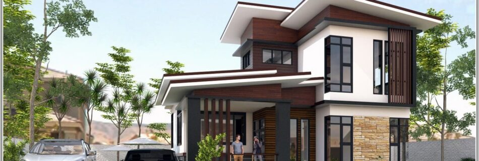 Introducing modern house designs, half floor