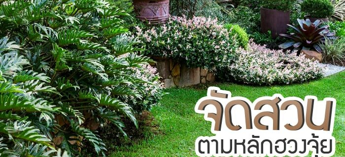 Tips for gardening in front of the house. Feng Shui.