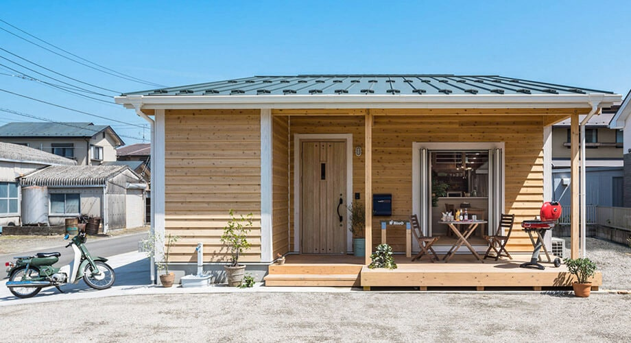 Japanese style wooden house guide