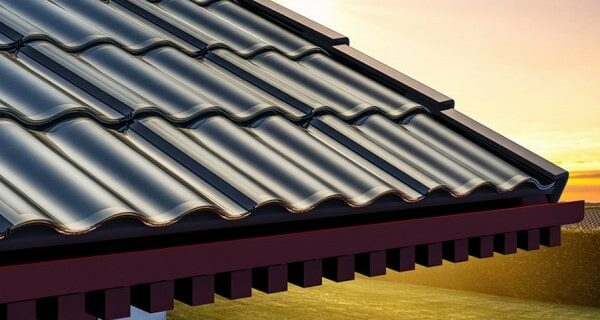 Double corrugated tile information